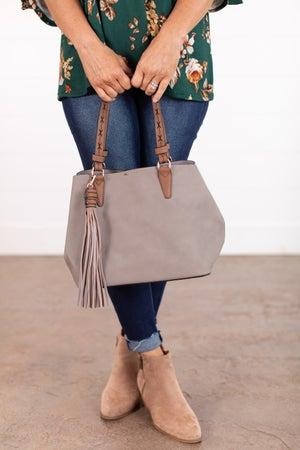 sku15842   2-In-1 Satchel Handbag