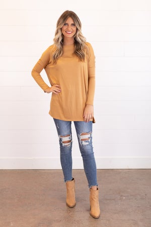 sku16350 | Boat Neck Dolman Tunic