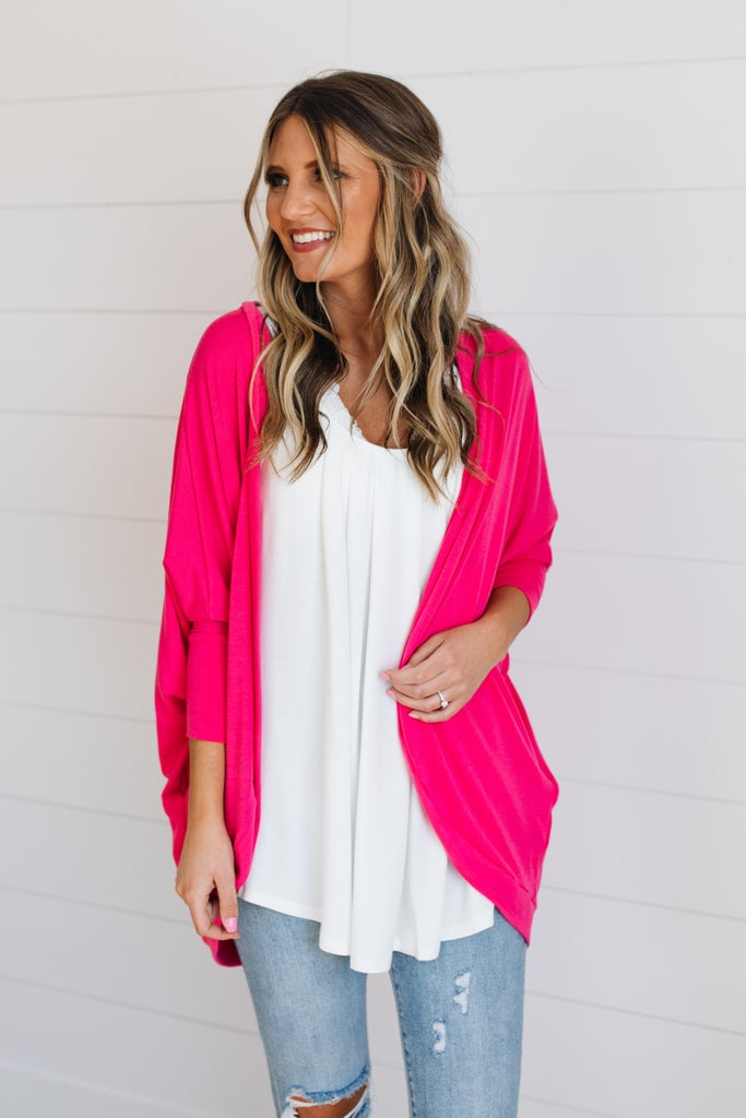 sku19503 | **Daily Deal** Cocoon Cardigan