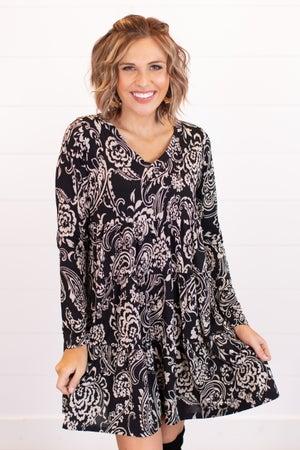 sku16725 | Paisley Tiered Dress