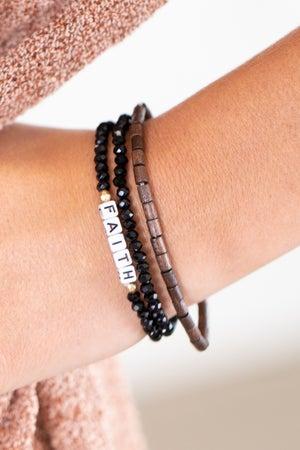 sku15784 | Faith Bead Bracelet