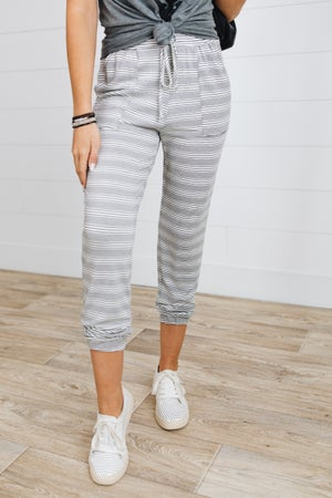 sku16601 | Pinstriped Joggers