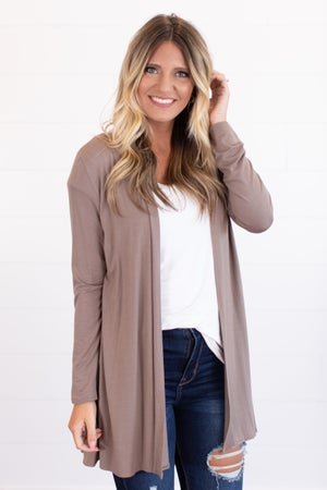 sku15475 | **Daily Deal** Draped Front Cardigan
