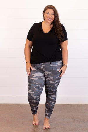 sku15330 | Camo Moto Leggings