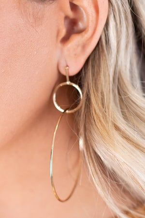 sku17268 | Geometric Dangle Earrings