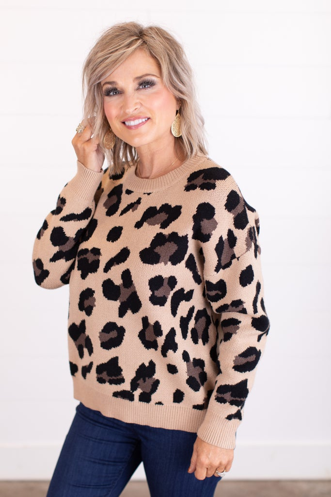 sku16056   Animal Print Sweater