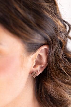 sku17812 | Wooden Arrow Earrings
