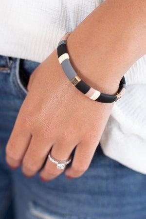 sku15780 | Rectangle Color Block Bracelet