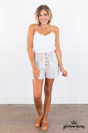 sku15055 | **Daily Deal** Paper Bag Shorts Romper
