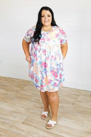 sku20993 | Floral Babdoll Dress