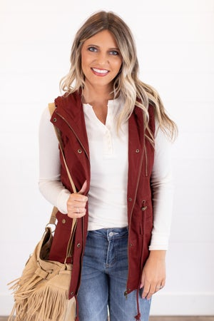 sku16322 | **Daily Deal** Hooded Utility Vest