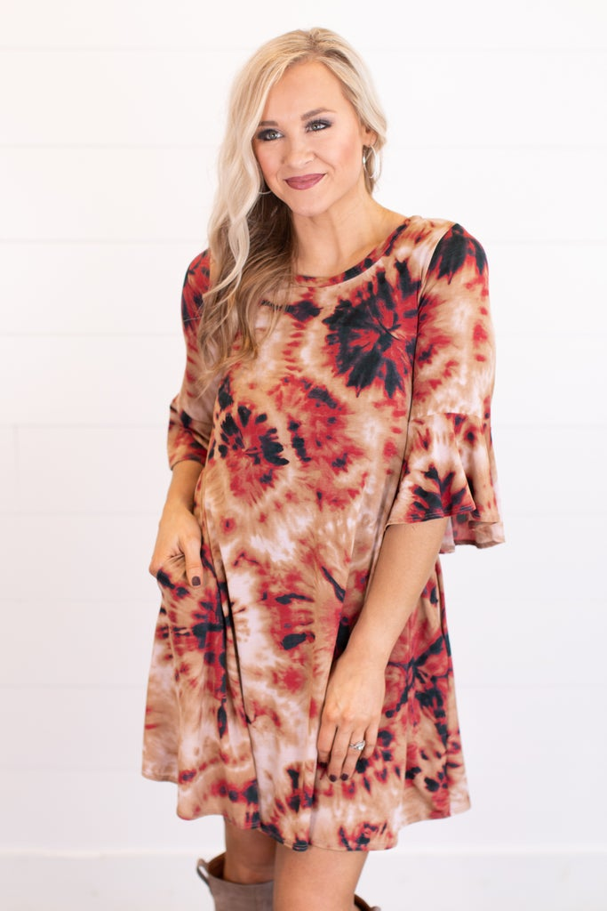 sku16431 | Tie Dyed Starburst Dress