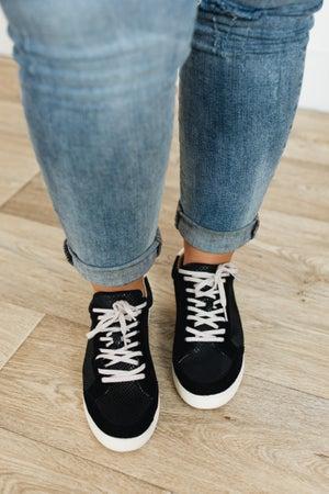 sku21705   Anne Snakeskin Sneaker