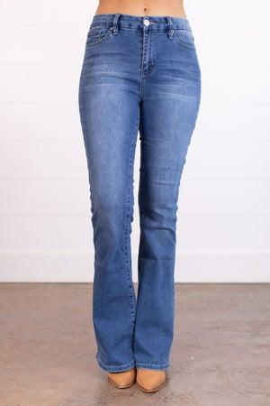 sku17514 | Hi-Rise Flared Jeans