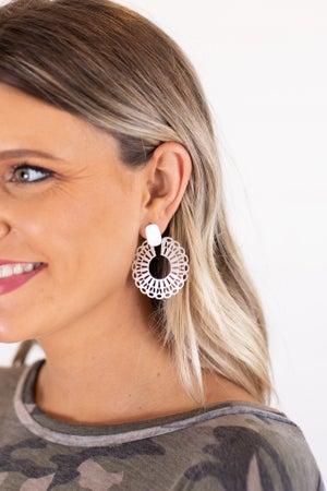 sku16795 | Filigree Circle Earrings