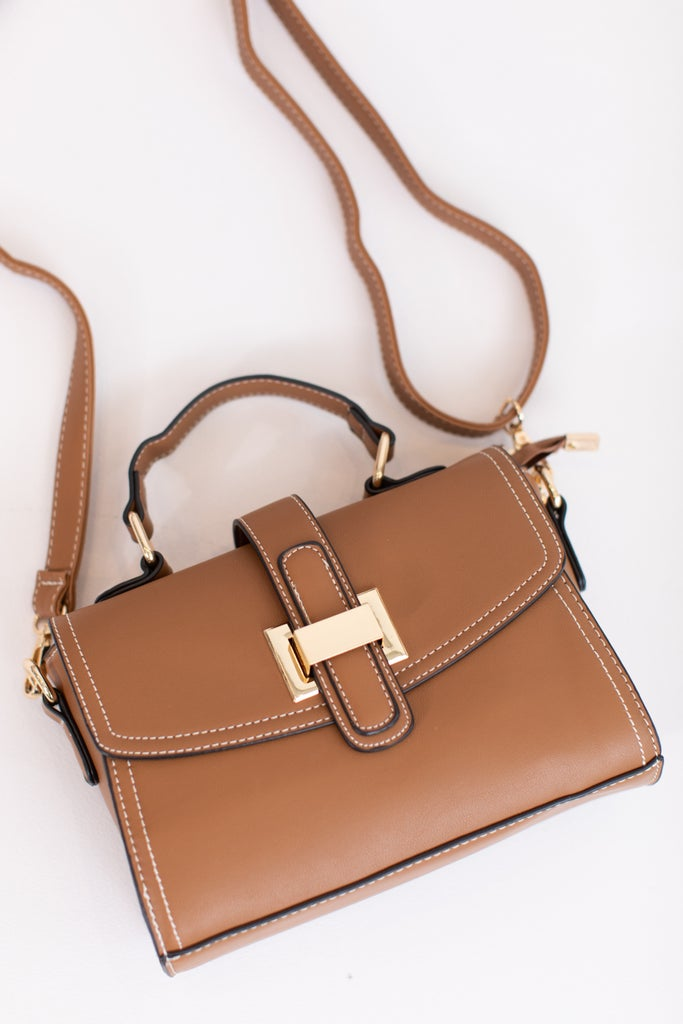 sku16932   Buckle Crossbody Handbag