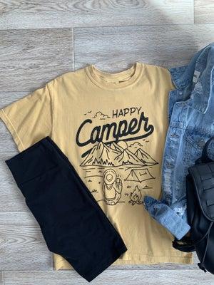 sku19183 | Happy Camper Graphic Tee
