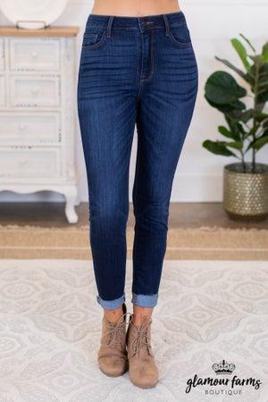 sku10008   High Rise Skinny Jean