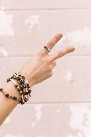 sku20787 | Mixed Bead Stretch Ring
