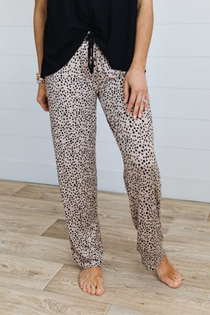 sku19681 | Animal Print Pajama Bottoms