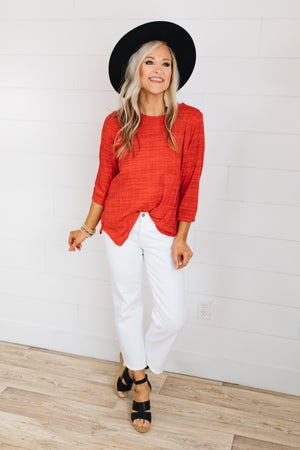 sku18958 | **Daily Deal** Two Tone Dolman Top