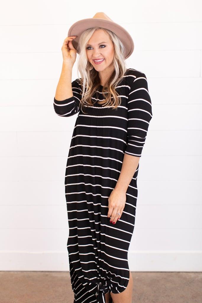 sku16153 | Striped Maxi Dress