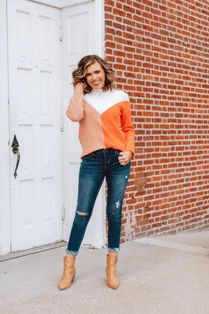 sku18049 | Color Block Sweater