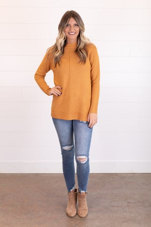 sku17601 | Side Button Sweater