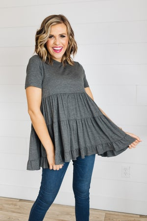 sku19388   **Daily Deal** Tiered Tunic