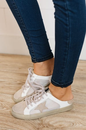 sku19961 | Polly Distressed Backless Sneaker