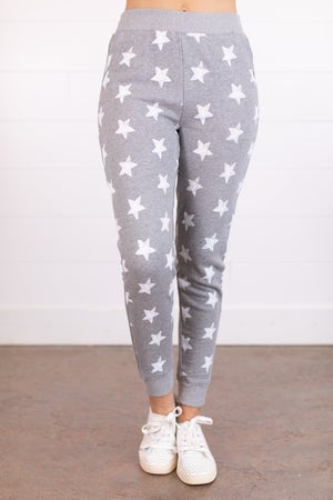 sku16578 | Star Print Jogger Sweatpants