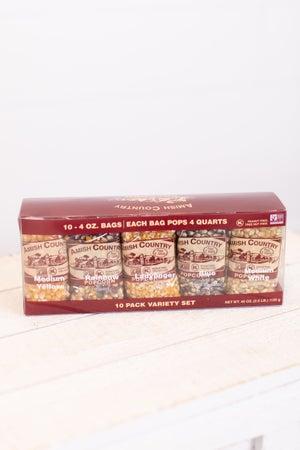 sku17996 | 10-Pack Sampler Popcorn Set