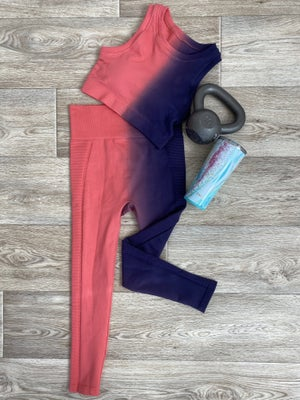 sku18830 | Split Ombre Active Leggings