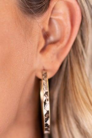 sku17303 | Animal Print Hoop Earrings