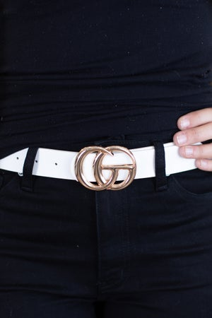 sku13920 | **Daily Deal** White Belt