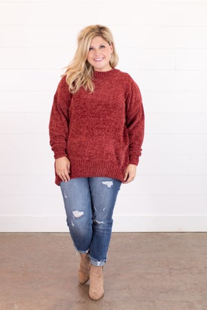 sku16330 | Chenille Tunic Sweater