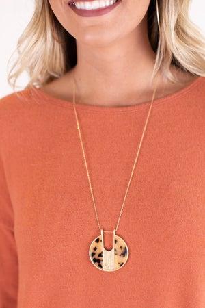 sku17250 | Acrylic Pendant Necklace