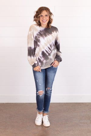 sku16227 | Tie Dyed Sweatshirt
