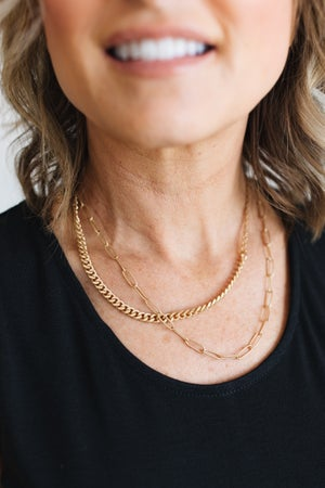 sku17361 | Layered Chain Necklace