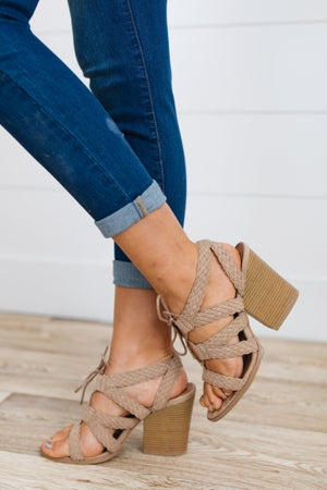 sku18906 | Barnes Lace-Up Block Heel Sandal