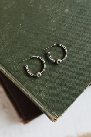 sku18588 | 20mm Ball Hoop Earrings