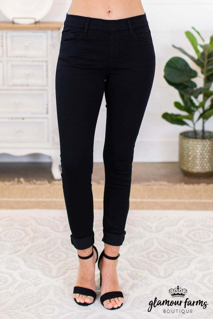 sku8980 | Pull-On Skinny Jean