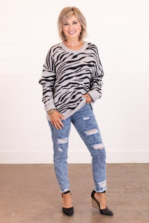 sku16535 | Animal Print Sweater