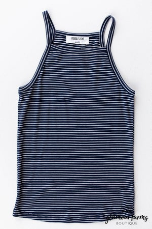 sku12434 | **Daily Deal** Striped Halter Cami Top