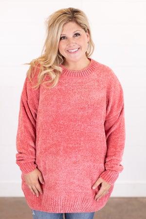 sku16333 | Chenille Tunic Sweater