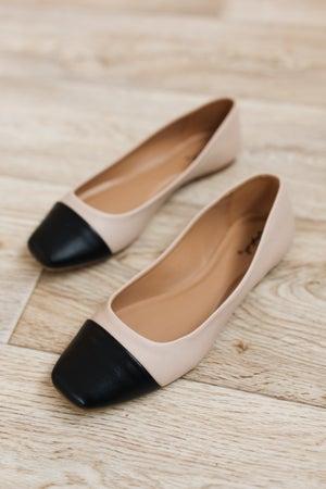 sku19410 | Tutu Two-Tone Ballet Flat