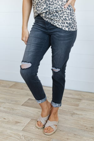sku20668 | Distressed Signature Skinny Jeans