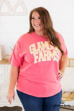 sku14720 | Glamour Farms Graphic Tee