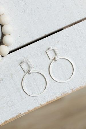 sku20346   Geometric Dangle Earrings