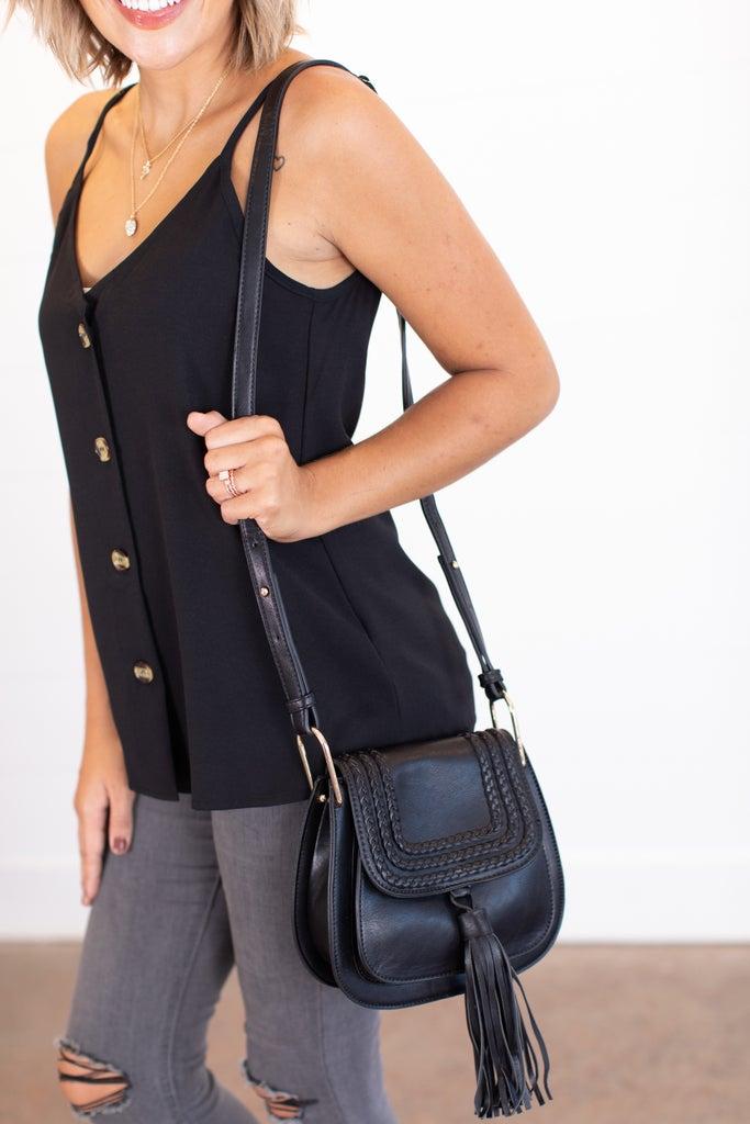 sku15718 | Crossbody Saddle Bag